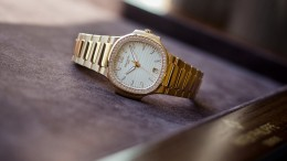 Patek Philippe replica Ladies Nautilus Series Available In Rose Gold Diamond-Studded Replica Watches