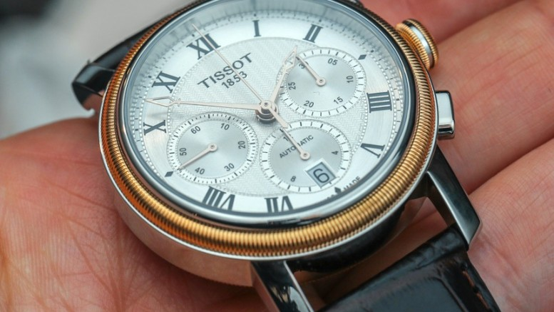 Classic Tissot Bridgeport Automatic Chronograph Replica Watch Releases