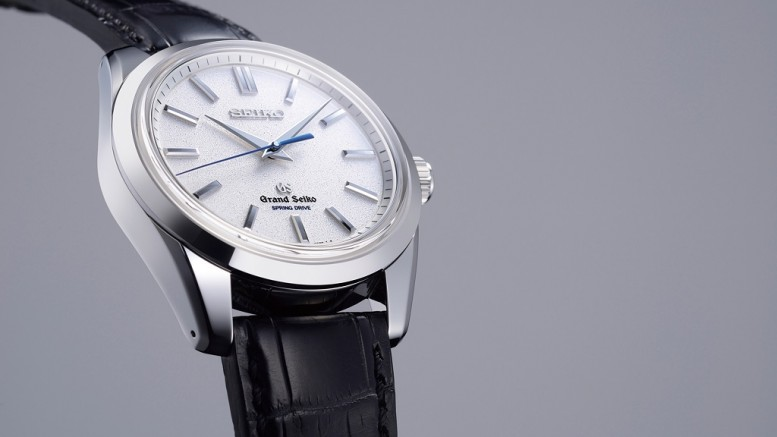 Full Review With The Simple And Traditional Grand Seiko SBGD001 Spring Drive 8 Day Power Reserve Replica Watch
