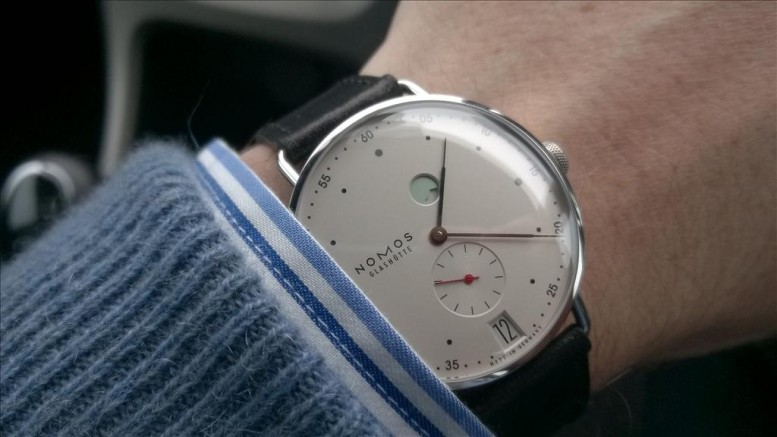 Introducing The Latest Cute NOMOS Glashutte Metro Datum Gangreserve 1101 Replica Watch