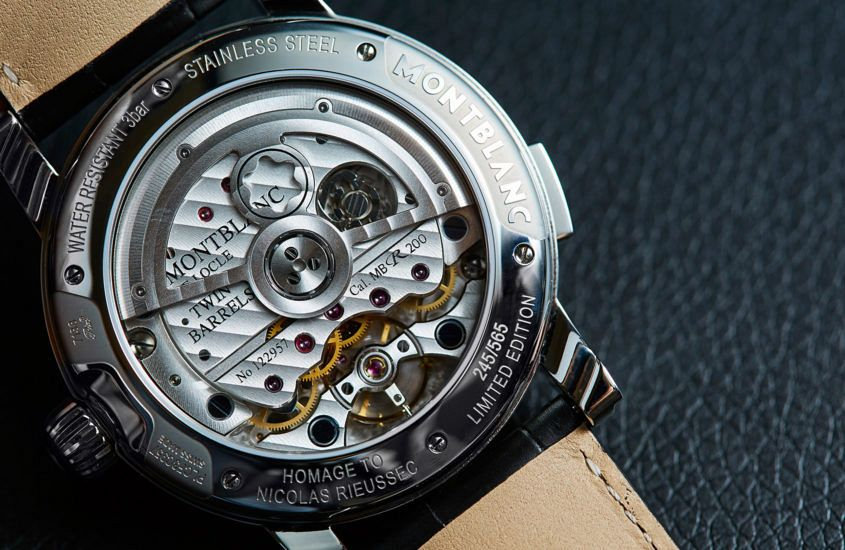 Limited Edition Watch Series:The Montblanc Homage to Nicolas Rieussec II Replica