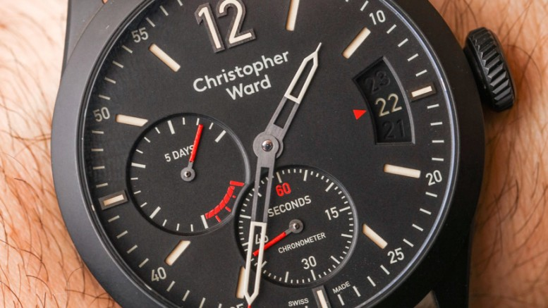 A Elegant Timepiece Of Christopher Ward C8 Power Reserve Chronometer Replica