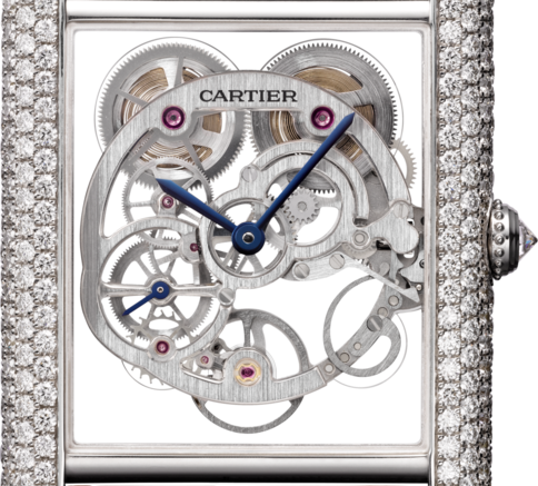 A Charming Watch On Your Wrist:Blue Hands Tank Louis Cartier Replica Watches