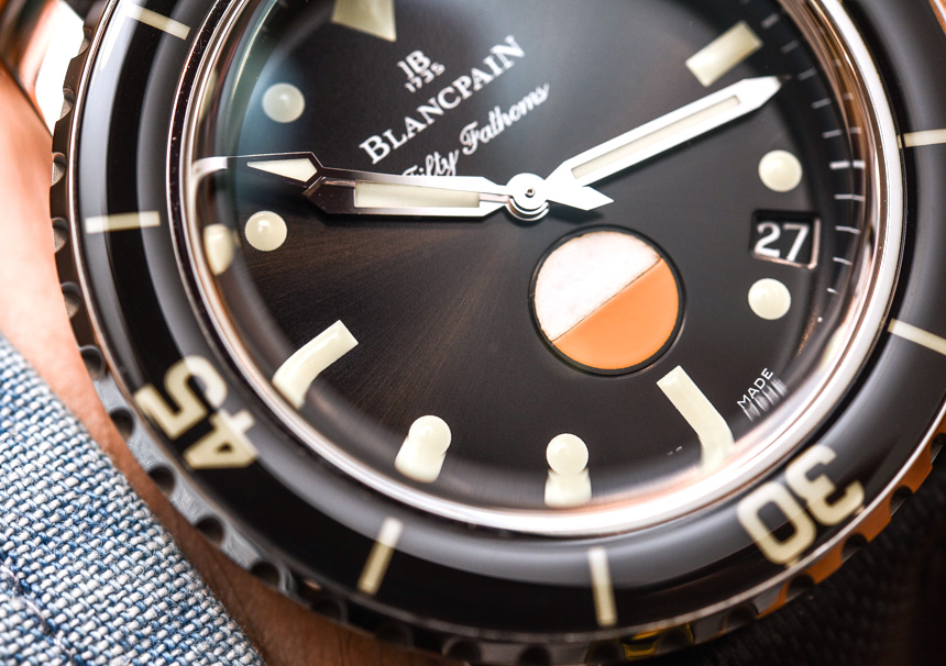Blancpain Tribute To Fifty Fathoms Mil-Spec Watch Hands-On Hands-On