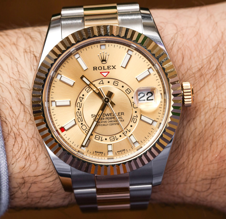 Where Can I Buy Rolex Sky,Dweller Watches In Two,Tone Steel