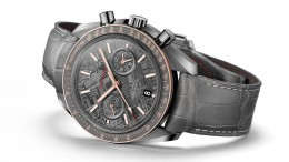 Presenting The Unique Omega Speedmaster Grey Side Of The Moon Meteorite Replica Watch