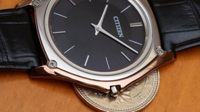 Hands-on With The Ultra-thin And Lightweight Citizen Eco-Drive One Replica Watch