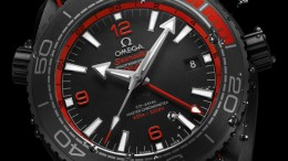 Meet The Masculine Sporty Omega Seamaster Planet Ocean GMT Deep Black Replica Watches