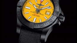 Limited Edition Watch Series:Breitling Avenger II Seawolf Blacksteel Replica