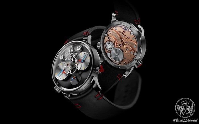 Limited Edition Watch Series:MB&F LM1 Silberstein With Black PVD Replica
