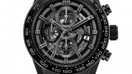 The New Models 2016:Tag Heuer Carrera Heuer 01 Replica Mens Watch