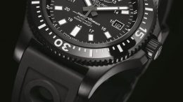Let Us Review The Breitling Superocean 44 Series Black Dial Men's Replica Watches