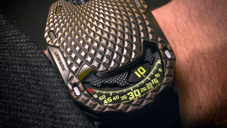 A Luxurious Version Of Urwerk UR-105 T-Rex Replica Watch